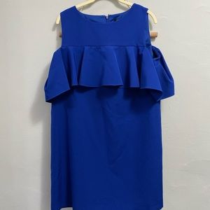 NEWLY PRICED Tahari Blue Dress Size 10P
